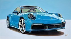 2020 Porsche Carrera 911 4S by Roz Wilson -  sized 40x22 inches. Available from Whitewall Galleries